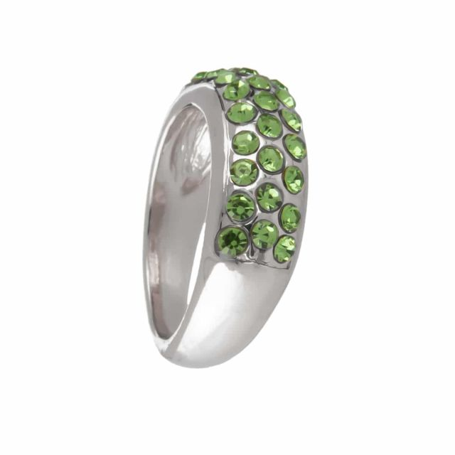 Meriel ring stone 18 silver Agua