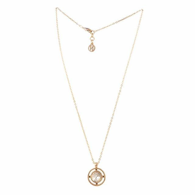 Meriel neck 45 gold Clear