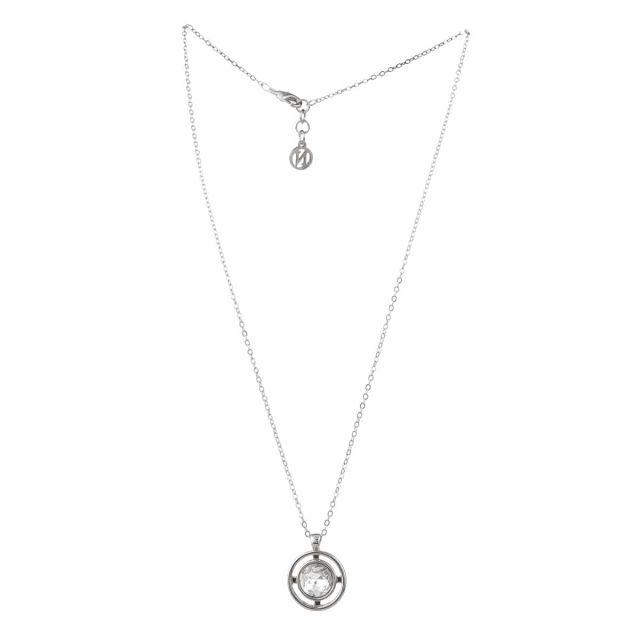 Meriel neck 45 silver Clear