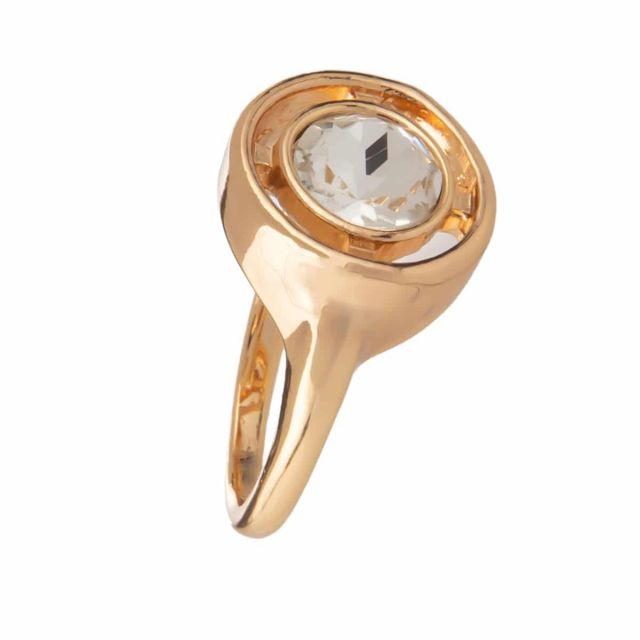 Meriel ring 18 gold Clear