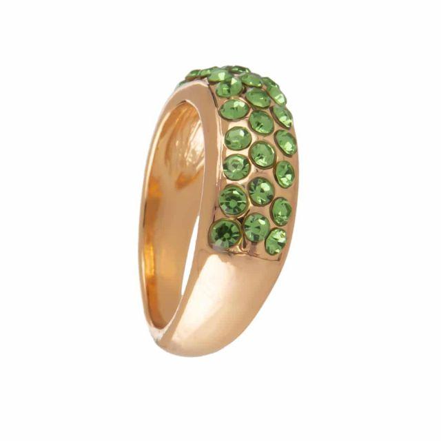 Meriel ring stone 18 gold Agua