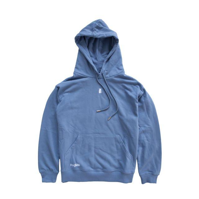 Hugme hoodie Jeansblue L