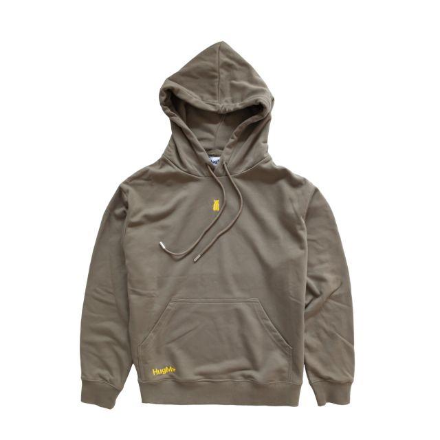 Hugme hoodie Army L