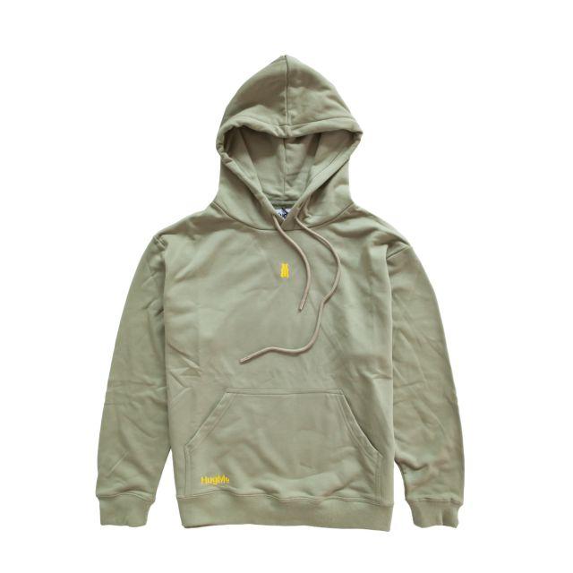 Hugme hoodie Olive L
