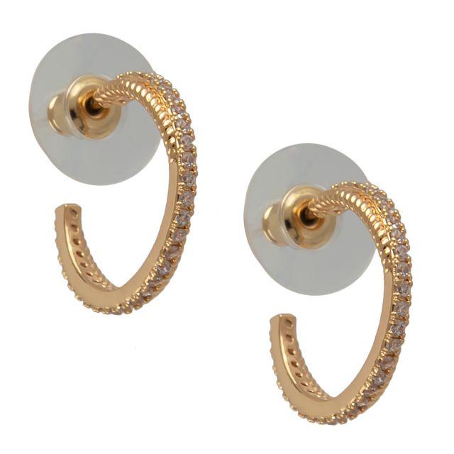 Laurel round ear gold