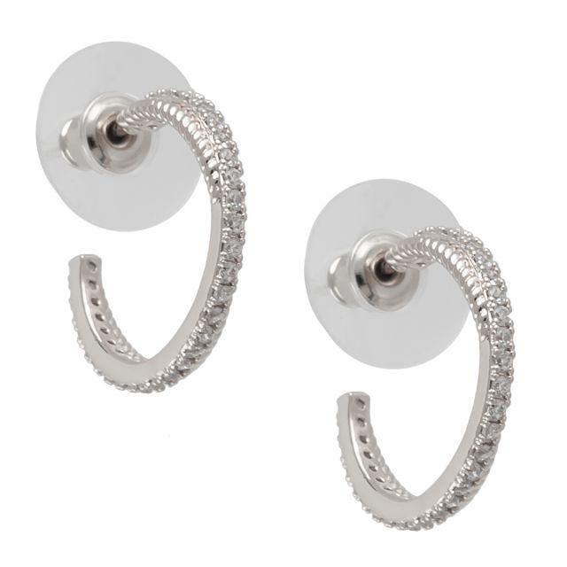 Laurel round ear silver