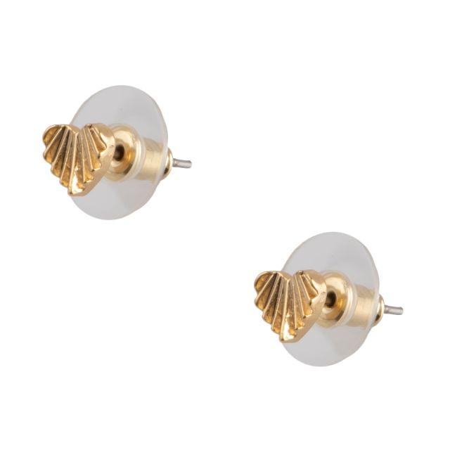 Dehlia stud ear Gold