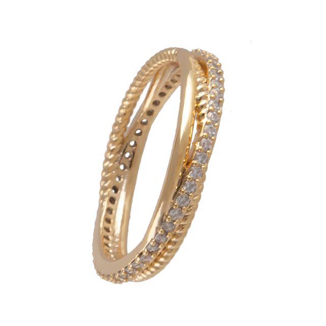Laurel ring 19 gold