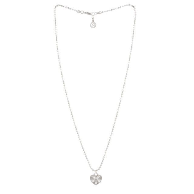 Dehlia neck 50 silver Clear