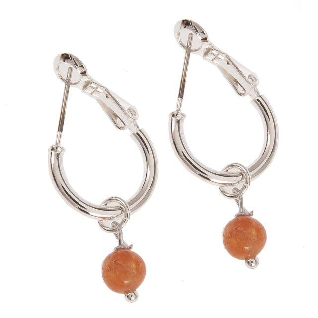 Wisdom ear silver Orange