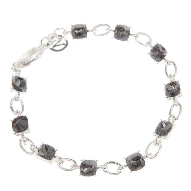 Clara brace chain silver Grey