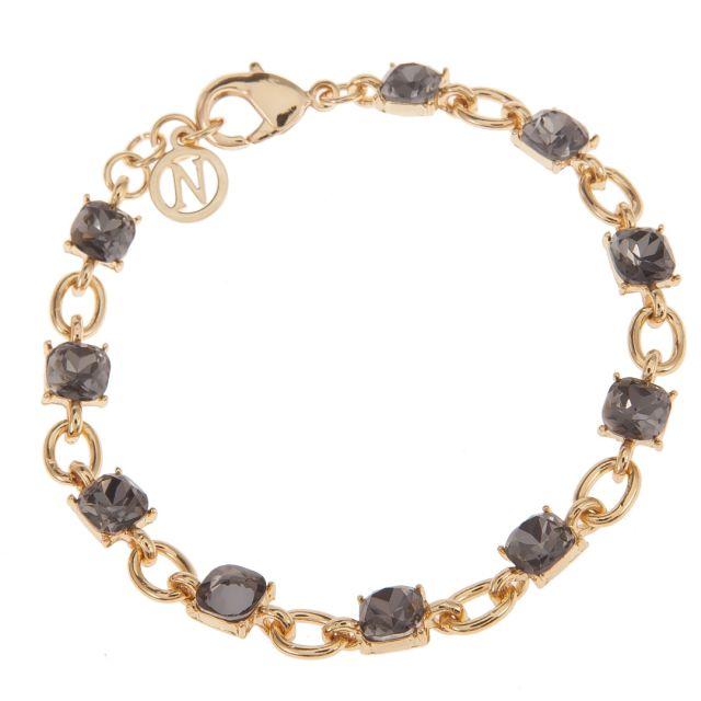 Clara brace chain gold Grey