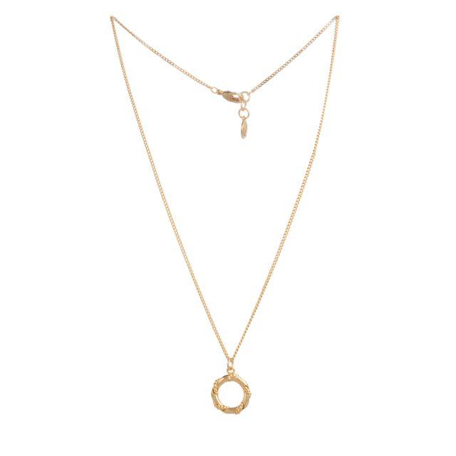Anchor neck 42 Gold
