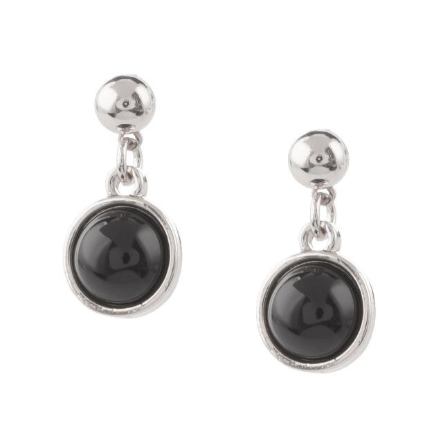Austin ear silver Black