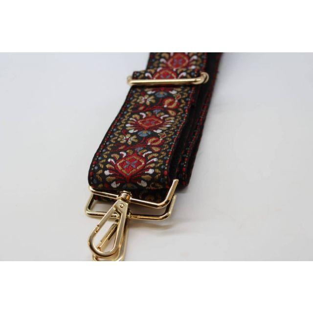 Bag strap rose Black