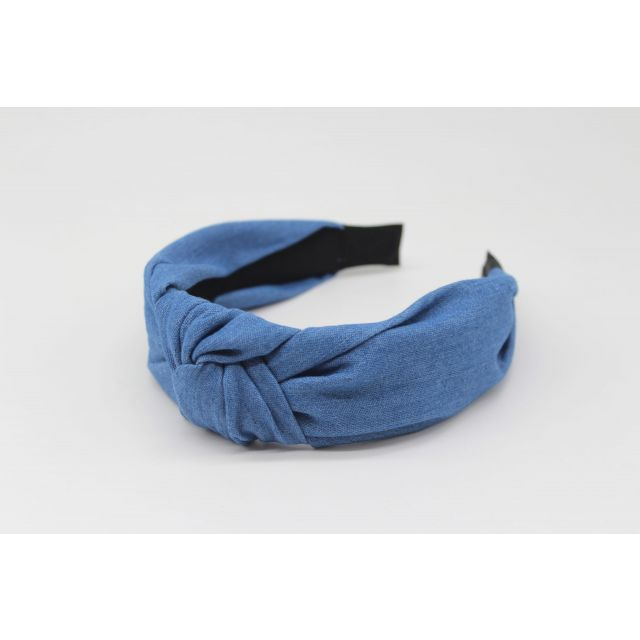 Hair band jeans Medium blue