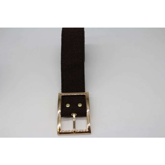 Belt fishbone Darkbrown