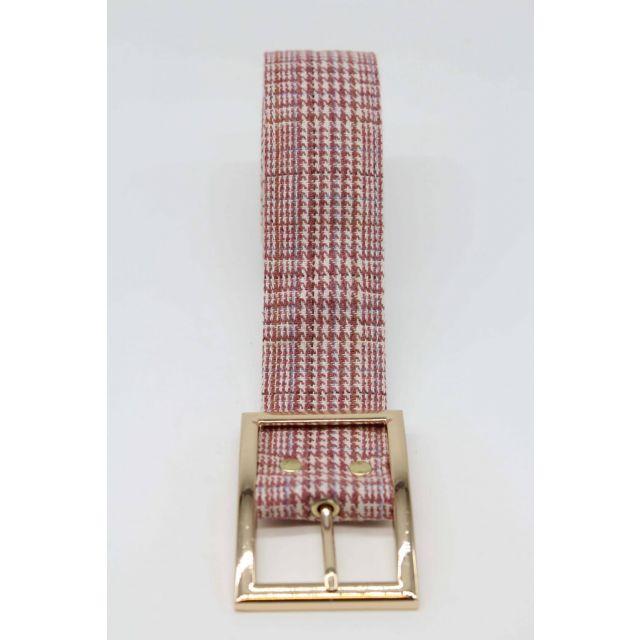 Belt tweed Lightpink