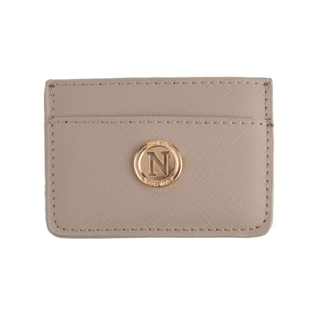 Card holder Taupe