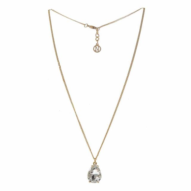 Drop neck 42 gold Clear