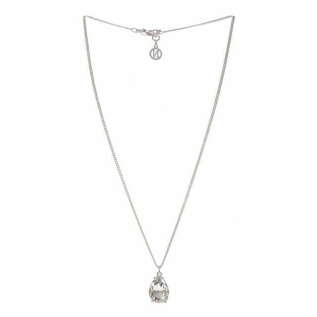 Drop neck 42 silver Clear
