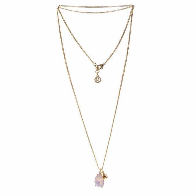 Drop neck 80 gold Matt pink