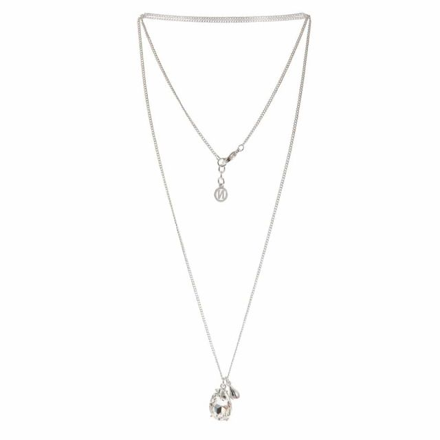 Drop neck 80 silver Clear