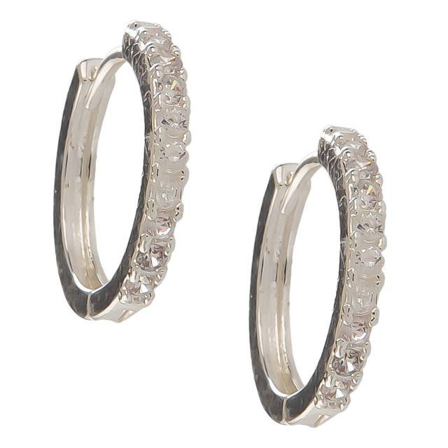Meriel ear silver Clear