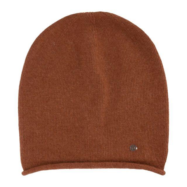 Hat angora Brown