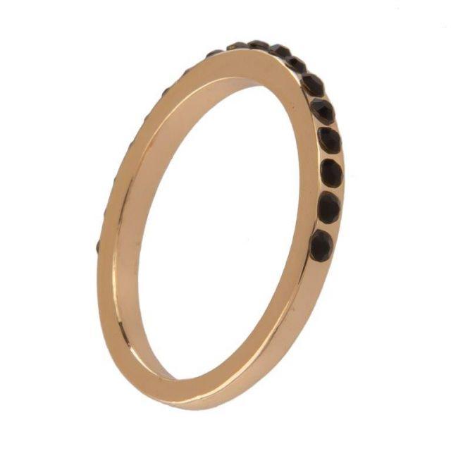 Haven ring 17 gold Black