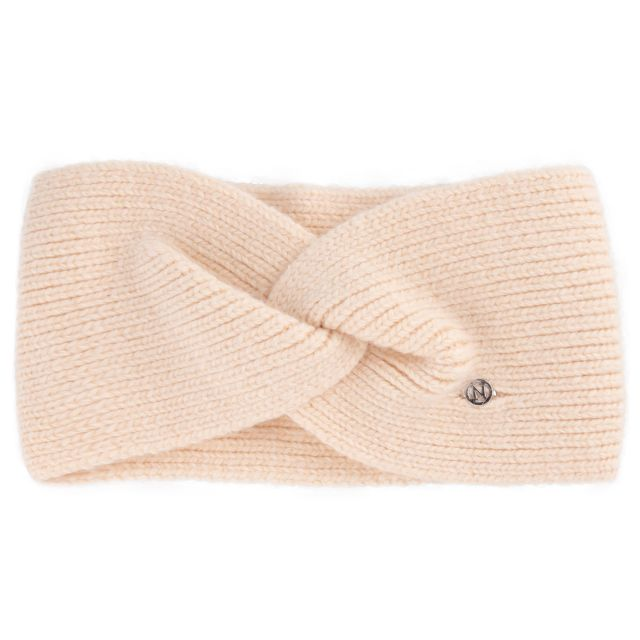 Headband angora Beige