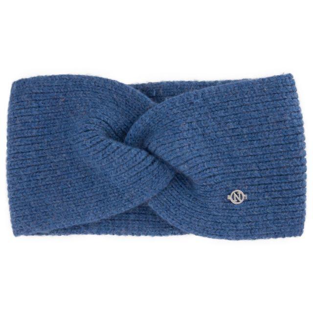 Headband angora Blue