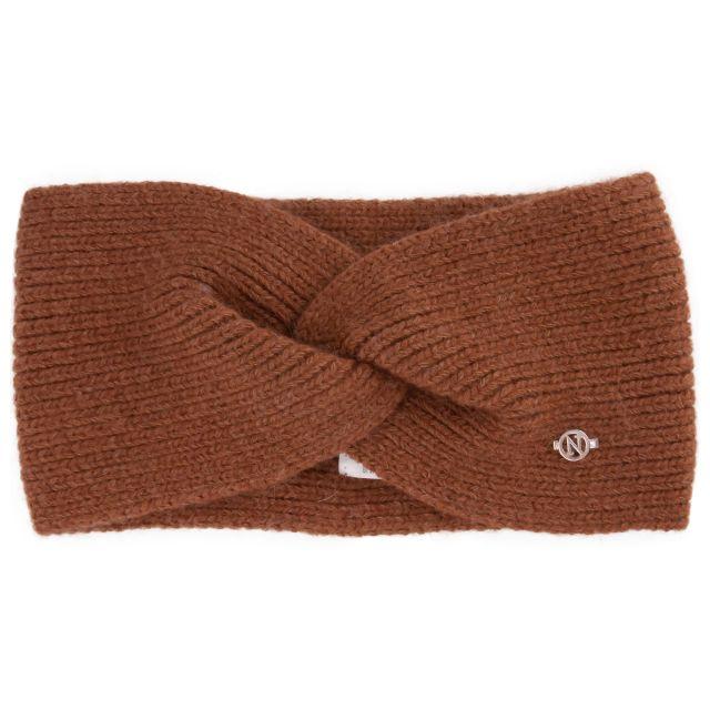 Headband angora Brown