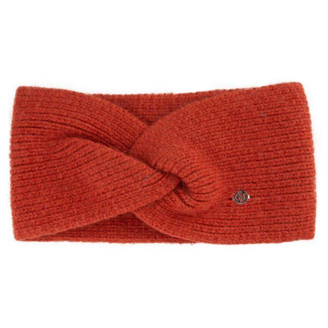 Headband angora Rust