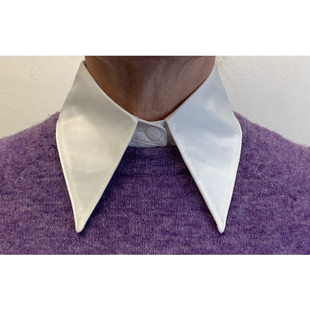 Collar plain large White