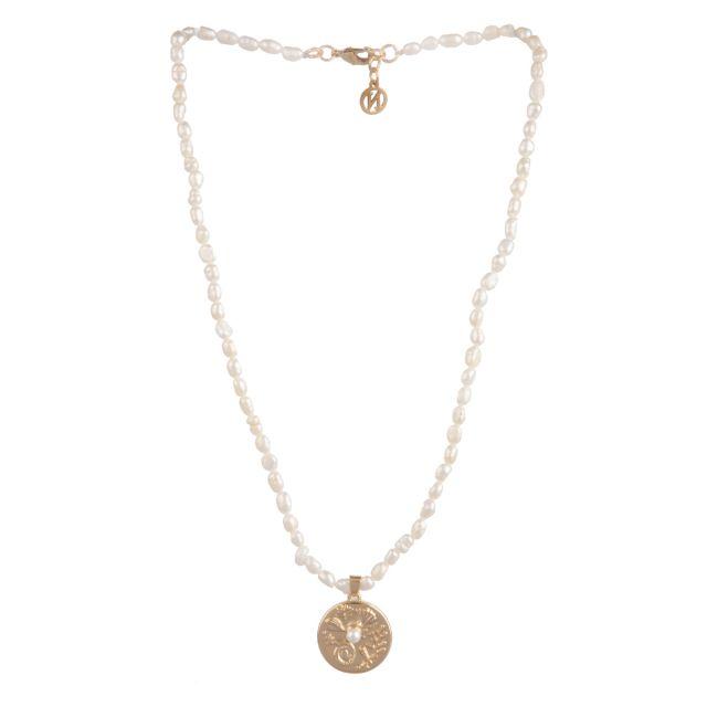 Isabel neck 42 Gold