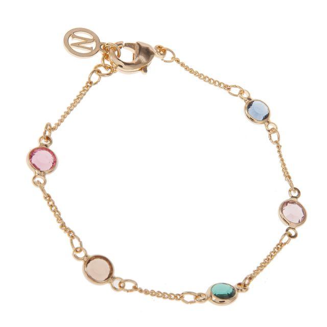 Jewel brace chain Gold