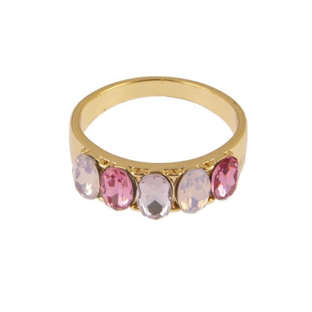 Jordan big ring 17 gold Lilac mix