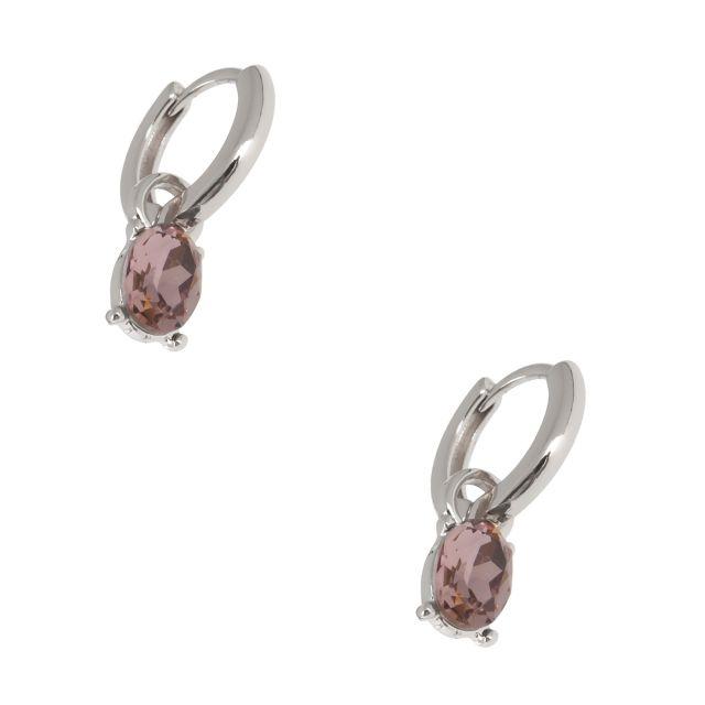 Jordan drop ear silver Lilac