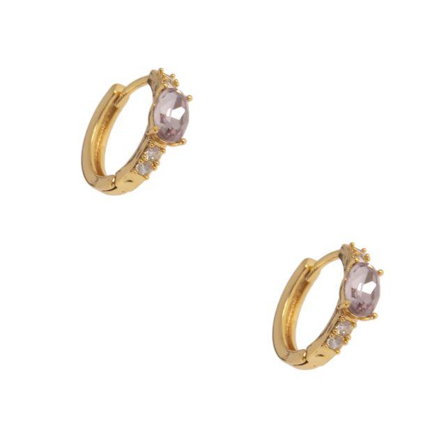 Jordan ear gold Lilac