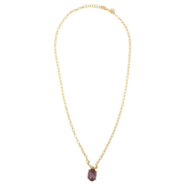 Jordan neck 55 gold Lilac