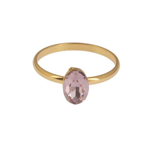 Jordan ring 17 gold Lilac