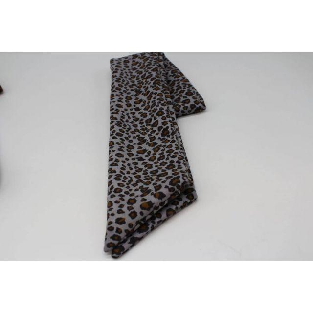 Hair wire leopard Lightblue