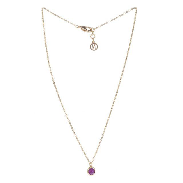 Lindsay neck 42 gold Purple