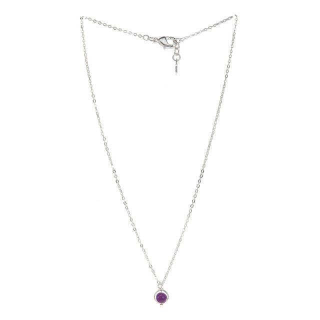 Lindsay neck 42 silver Purple