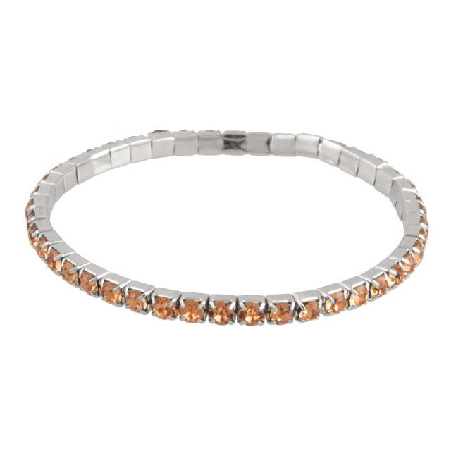 Line el. brace silver Coral