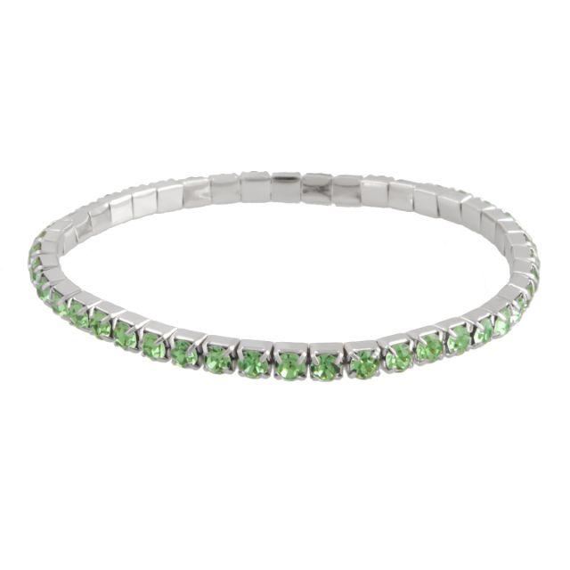 Line el. brace silver Lightgreen
