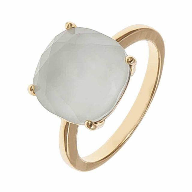 Lori ring 18 gold Beige