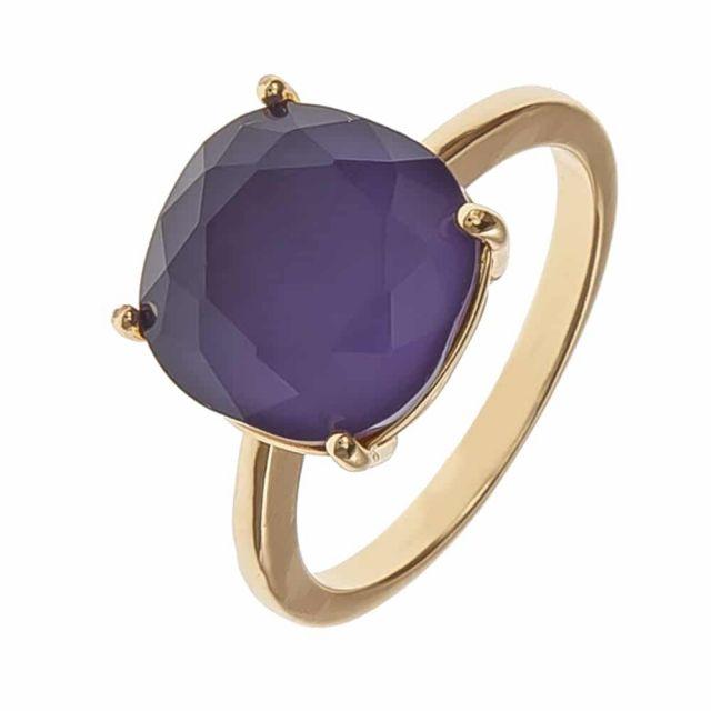 Lori ring 18 gold Purple