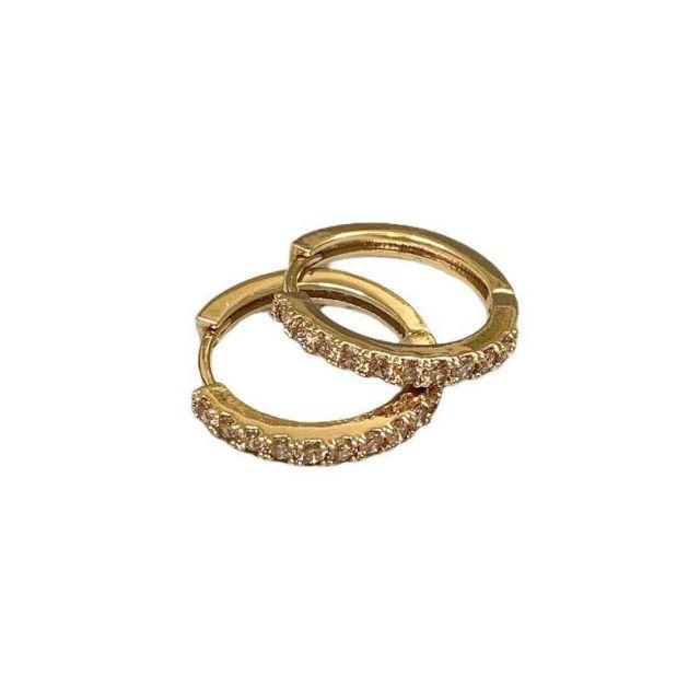Meriel ear gold Champagne